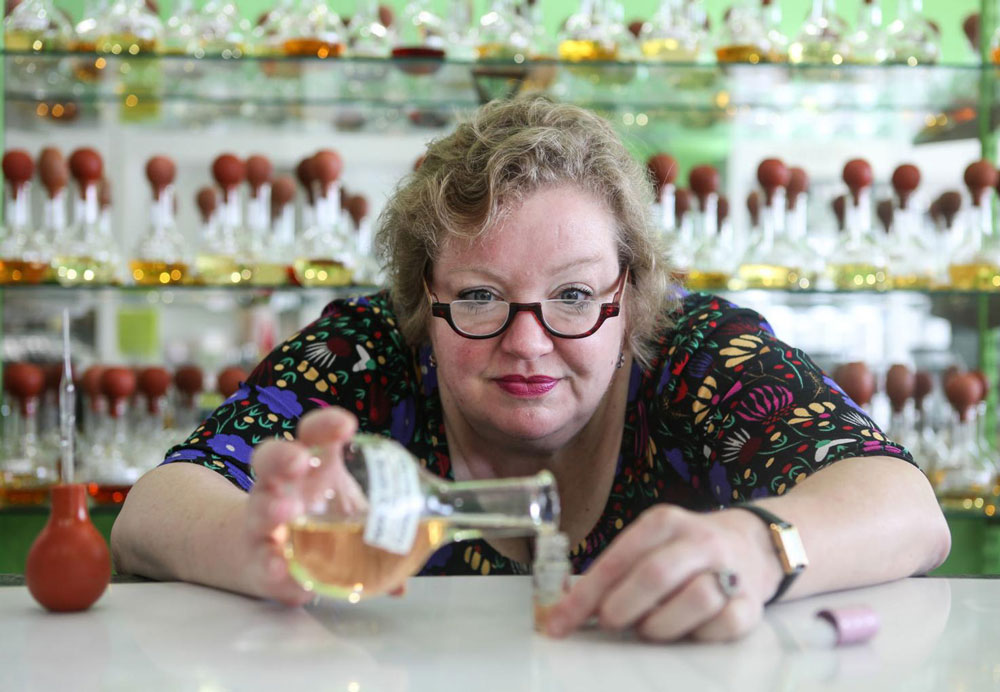 Cassie Buell, owner and proprietor of Cassie's Fragrance Boutique & Scent Bar